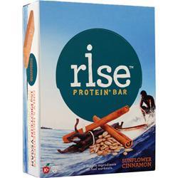 Rise Bar Rise Protein+ Bar Sunflower Cinnamon 12 bars