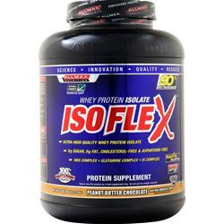 Allmax Nutrition IsoFlex - Whey Protein Isolate Peanut Butter Chocolate 5 lbs