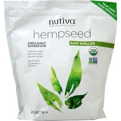 Nutiva Organic Shelled Hempseed 5 lbs