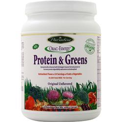 Paradise Herbs Orac-Energy Protein Greens 16 oz