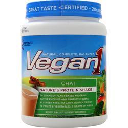 Nutrition 53 Vegan1 Chai 1.5 lbs