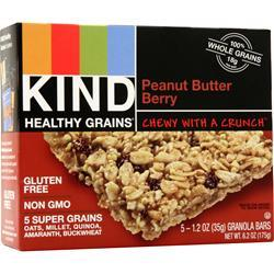 Kind Healthy Grains Bar Peanut Butter Berry 5 bars