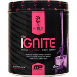 FitMiss Ignite - Women's Pre Workout + Energy Booster Grape 7.4 oz