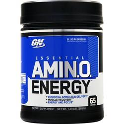Optimum Nutrition Essential AMIN.O. Energy Blue Raspberry 1.29 lbs