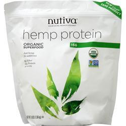 Nutiva Organic Hemp Protein 15g 3 lbs