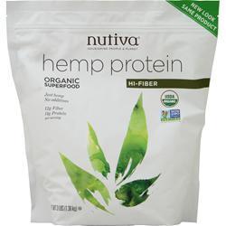 Nutiva Organic Hemp Protein + Fiber 3 lbs