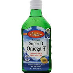 Carlson Super D Omega-3 Lemon 8.4 fl.oz