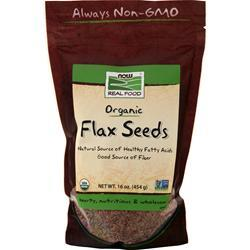 Now Organic Flax Seeds 2 lbs