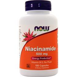 Now Niacinamide (500mg) 100 caps