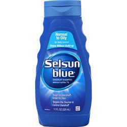 Chattem Selsun Blue Dandruff Shampoo - Normal to Oily 11 oz