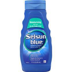 Chattem Selsun Blue Dandruff Shampoo - Moisturizing 11 oz