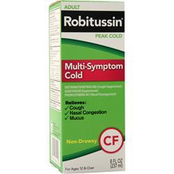 Robitussin Peak Cold - Multi Symptom Cold  EXPIRES 5/17 8 fl.oz