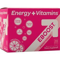 VitalizeLabs Eboost Pink Lemonade 20 pckts