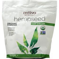 Nutiva Organic Hemp Seed Shelled 19 oz