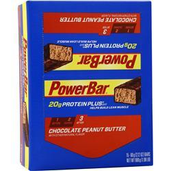 PowerBar Protein Plus Bar Chocolate Peanut Butter 15 bars