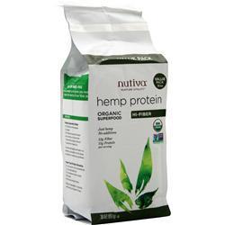 Nutiva Organic Hemp Protein Hi-Fiber 30 oz