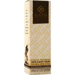 Alaffia Virgin Coconut Body Cream Refreshing Coconut 4 fl.oz