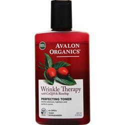 Avalon Organics CoQ10 Enzyme Skin Care Perfecting Facial Toner 8 fl.oz