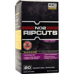 MRI NO2 Ripcuts Powder Grape Velocity 20 pck