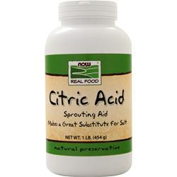 Now Citric Acid - 100% Pure 1 lbs