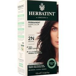Herbatint Permanent Herbal Haircolour Gel Brown 135 mL