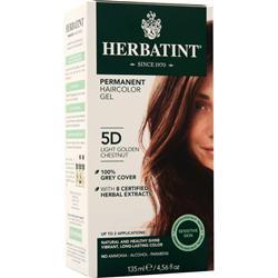 Herbatint Permanent Herbal Haircolour Gel Light Golden Chestnut 135 mL
