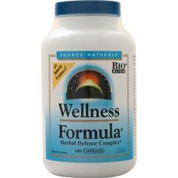 Source Naturals Wellness Formula 240 caps