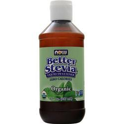 Now Organic Stevia Extract  Liquid 8 fl.oz
