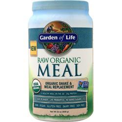 Garden Of Life Raw Meal - Organic Shake & Meal Replacement 908 grams