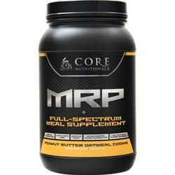 Core Nutritionals Core MRP - Meal Supplement Peanut Butter Oatmeal 3 lbs