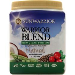 SunWarrior Warrior Blend - Raw Protein Natural 500 grams