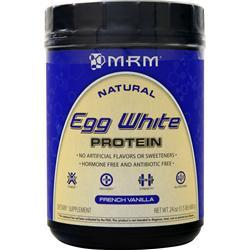 MRM Egg White Protein - All Natural French Vanilla 24 oz