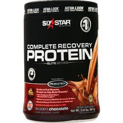 Six Star Pro Nutrition Recovery Protein Elite Series Decadent Chocolate 2 lbs