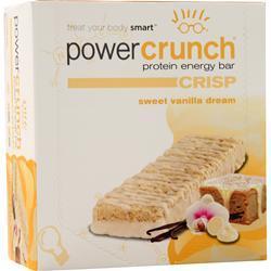 Power Crunch Power Crunch Crisp Bar Sweet Vanilla Dream 12 bars