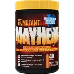 Fit Foods Mutant Mayhem Electric Blue Raspberry 1.59 lbs