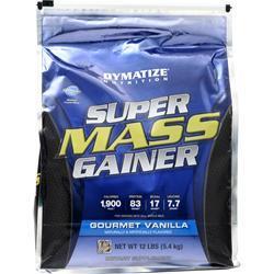 Dymatize Nutrition Super Mass Gainer Gourmet Vanilla 12 lbs