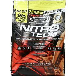 Muscletech Nitro Tech - Performance Series Milk Chocolate 10 lbs