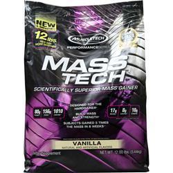 Muscletech Mass Tech - Performance Series Vanilla 12 lbs