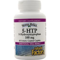 Natural Factors 5-HTP (100mg) 60 cplts