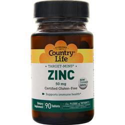 Country Life Target-Mins Zinc (50mg) 90 tabs