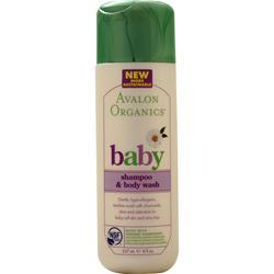 Avalon Organics baby - Shampoo &  Body Wash 8 fl.oz