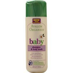Avalon Organics baby - Shampoo &  Body Wash 8 fl.oz