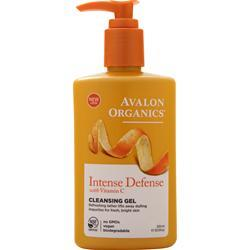 Avalon Organics Vitamin C Sun-Aging Defense Refreshing Cleansing Gel 8.5 fl.oz