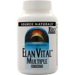 Source Naturals Elan Vital Multiple 60 tabs