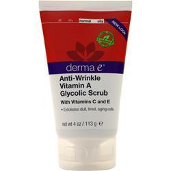 Derma-E Vitamin A Glycolic Facial Scrub 4 oz