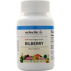 Eclectic Institute Fresh Raw Freeze-Dried American Bilberry 120 vcaps