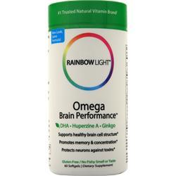 Rainbow Light Omega Brain Performance 60 sgels