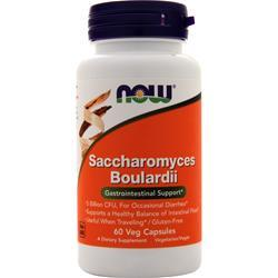 Now Saccharomyces Boulardii 60 vcaps