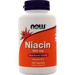 Now Niacin (500mg) 100 caps