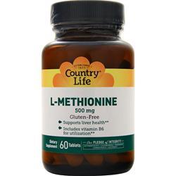 Country Life L-Methionine (500mg) 60 tabs